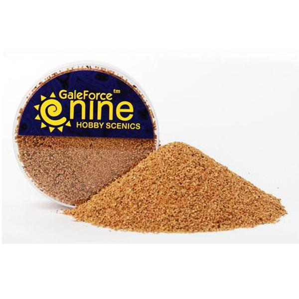 Gale Force Nine   Sand & Flock Hobby Round: Fine Basing Grit - GFS019 - 8780540003588