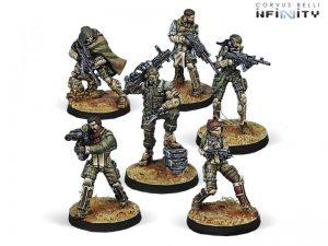 Corvus Belli Infinity  Haqqislam Hassassin Bahram (Haqqislam Sectorial Army) - 280491-0667 - 2804910006675
