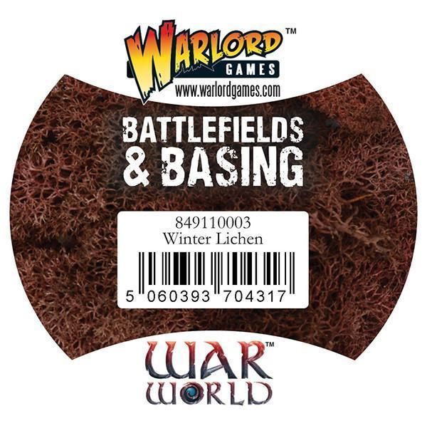 Warlord Games   Lichen & Foliage Warlord Scenics: Winter Lichen - 849110003 - 5060393704317
