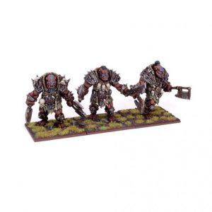 Mantic Kings of War  Ogres Ogre Berserker Braves Regiment - MGKWH101 - 5060208868449