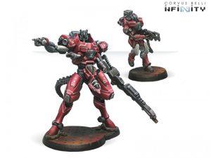 Corvus Belli Infinity  Nomads Iguana Squadron (TAG) - 280565-0438 - 2805650004389