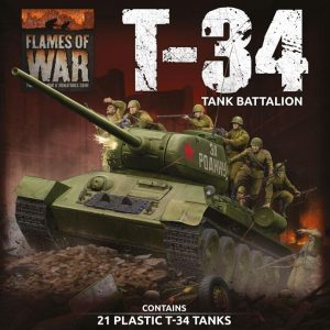 Battlefront Flames of War  SALE! Soviet LW T-34 Army Deal - SUAB12 - 9420020251243