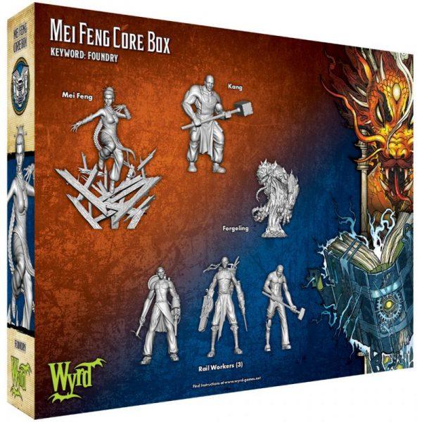 Wyrd Malifaux  Ten Thunders Mei Feng Core Box - WYR23714 - 812152030978