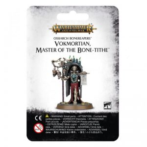 Games Workshop (Direct) Age of Sigmar  Ossiarch Bonereapers Ossiarch Bonereapers Vokmortian, Master of the Bone-tithe - 99070207012 - 5011921126255