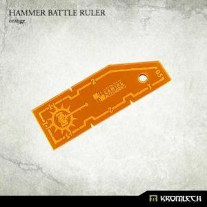Kromlech   Tapes & Measuring Sticks Hammer Battle Ruler [orange] (1) - KRGA020 - 5902216114159