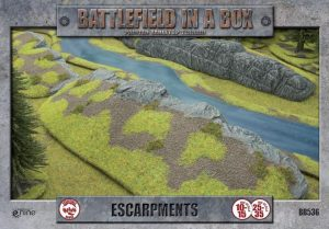 Gale Force Nine   Battlefield in a Box Battlefield in a Box: Escarpments - BB536 - 9420020217591