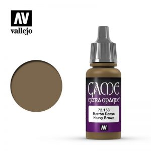 Vallejo   Extra Opaque Extra Opaque: Heavy Brown - VAL72153 - 8429551721530