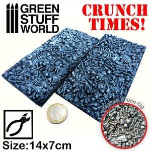 Green Stuff World   Modelling Extras Broken Bones Plates - Crunch Times! - 8436574500288ES - 8436574500288