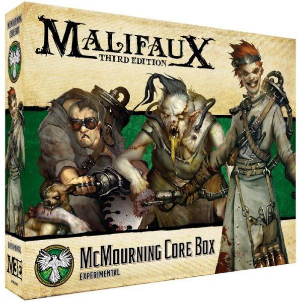 Wyrd Malifaux  Resurrectionists McMourning Core Box - WYR23202 - 812152032439