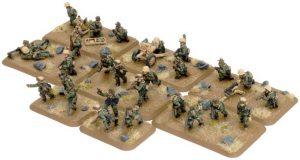 Battlefront   Germany Afrika Korps Rifle Platoon (25 Figs) - GE746 - 9420020235175