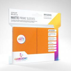Gamegenic   SALE! Gamegenic Matte Prime Sleeves Orange (100 pack) - GGS11035ML - 4251715402535