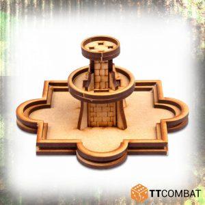 TTCombat   World War Scenics 25mm City Fountain - TTSCW-WAR-048 -