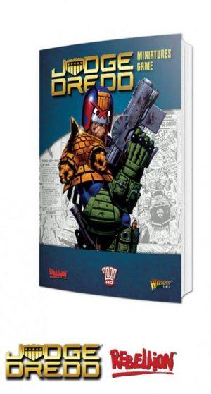 Warlord Games Judge Dredd  SALE! Judge Dredd: Rulebook - 659910002 - 9781911281559
