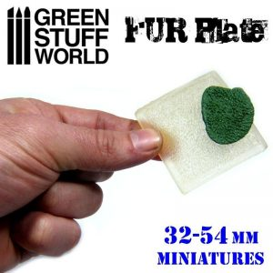 Green Stuff World   Texture Plates / Presses Texture Plate - Wolf Fur - 8436554368761ES - 8436554368761