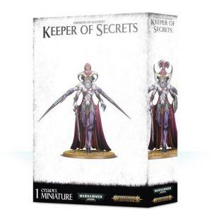 Games Workshop Warhammer 40,000 | Age of Sigmar  Chaos Daemons Keeper of Secrets - 99129915056 - 5011921116270