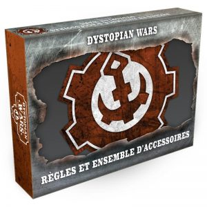 Warcradle Dystopian Wars  Dystopian Wars Dystopian Wars Rules & Gubbins Set - French - DWA990002 -