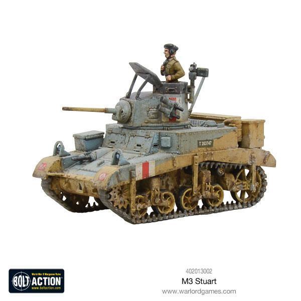 Warlord Games Bolt Action  Germany (BA) M3 Stuart - 402013002 - 5060393704706