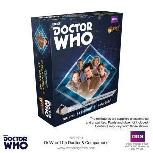 Warlord Games Doctor Who  Doctor Who Doctor Who: The 11th Doctor & Companions - 602210011 - 5060393708391