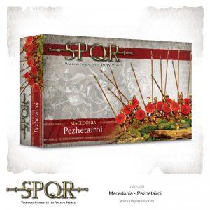 Warlord Games SPQR  SPQR SPQR: Macedonian Pezhetairoi - 152012001 - 5060572504622