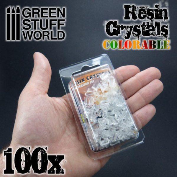 Green Stuff World   Green Stuff World Conversion Parts Resin Crystals transparent colorables - 8436574500363ES - 8436574500363