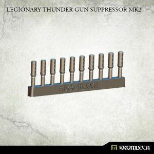 Kromlech   Legionary Conversion Parts Legionary Thunder Gun Suppressor Mk2 (10) - KRCB177 - 5902216115057