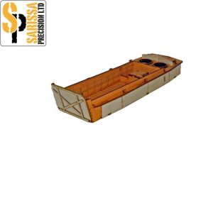 Warlord Games Bolt Action  Warlord Games Terrain US LCVP Platoon (3 x LCVP's) - N044 -