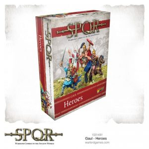 Warlord Games SPQR  SPQR SPQR: Gaul Heroes - 152214001 - 5060572504417