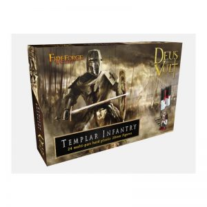 Fireforge Games   Medieval Era Templar Infantry - FF006 - 2656600006959