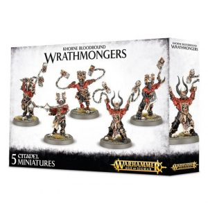 Games Workshop Age of Sigmar  Blades of Khorne Khorne Wrathmongers / Skullreapers - 99120201042 - 5011921064038