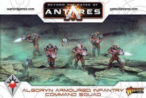 Warlord Games Beyond the Gates of Antares  SALE! Algoryn Command Squad - 502011002 - 5060393706076