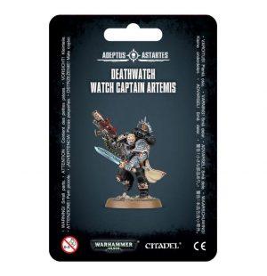 Games Workshop (Direct) Warhammer 40,000  40k Direct Orders Deathwatch Watch Captain Artemis - 99070109002 - 5011921074228