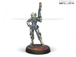 Corvus Belli Infinity  Nomads Riot Grrls (Spitfire) - 280555-0359 - 2805550003598