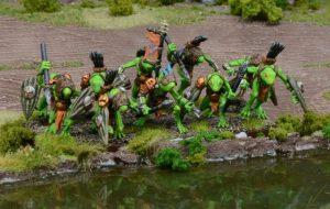 Mantic Kings of War  Trident Realm of Neritica Riverguard Troop - MGKWR302 - 5060469660639