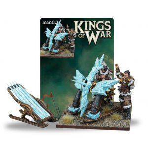 Mantic Kings of War  Northern Alliance Northern Alliance Ice Kin Bolt Thrower - MGKWL405 - 5060469664811