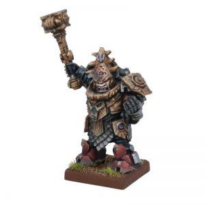 Mantic Kings of War  Abyssal Dwarves Abyssal Dwarf King - MGKWK72-1 - 5060208863086