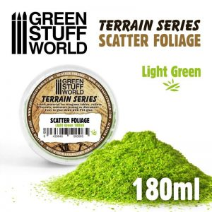 Green Stuff World   Lichen & Foliage Scatter Foliage - Light Green - 180ml - 8435646500065ES - 8435646500065