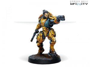 Corvus Belli Infinity  Yu Jing Krit Kokram, Invincible Zuyongs Specialist - 281308-0775 - 2813080007757
