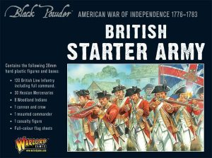 Warlord Games Black Powder  British (Napoleonic) Napolenic British Army starter set - WGR-ARMY1 - 5060393702450