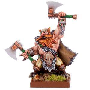 Mantic Kings of War  Dwarf Armies Dwarf Berserker Lord - MGKWD77-1 - 5060208863468