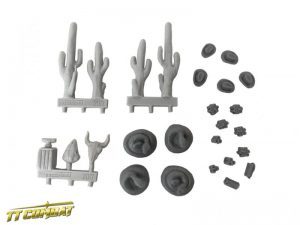 TTCombat   Wild West Scenics (28-32mm) Western Accessories 1 - WWSRA001 - 5060504044134