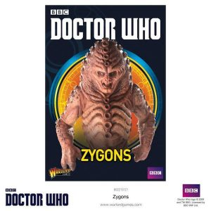 Warlord Games Doctor Who  Doctor Who Doctor Who: Zygons - 602210121 - 5060393705079