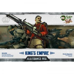 Wyrd The Other Side  King's Empire King's Empire Allegiance Box - Charles Edmonton - WYR40101 - 812152030046