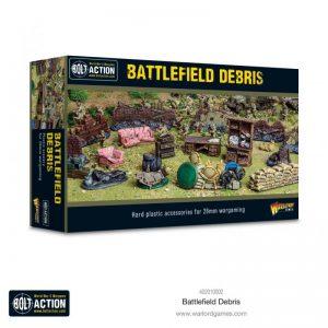 Warlord Games Bolt Action  Bolt Action Extras Bolt Action Battlefield Debris - 402010002 - 5060572506718