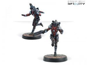 Corvus Belli Infinity  Nomads Hellcats (Hacker / Boarding Shotgun) - 280589-0669 - 2805890006693
