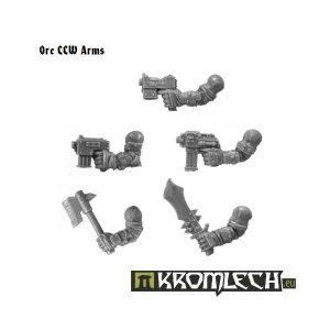 Kromlech   Orc Conversion Parts Orc CCW Arms (5) - KRCB094 - 5902216110922