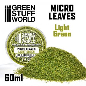 Green Stuff World   Lichen & Foliage Micro Leaves - Light Green Mix - 8435646502885ES - 8435646502885