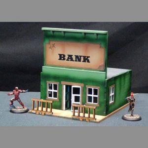 TTCombat   Wild West Scenics (28-32mm) Bank - WWS002 -