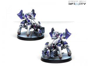 Corvus Belli Infinity  The Aleph ALEPH Rebots - 280860-0734 - 2808600007348