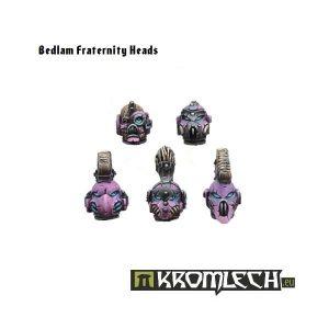 Kromlech   Heretic Legionary Conversion Parts Bedlam Fraternity Heads (10) - KRCB043 - 5902216110410