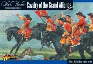 Warlord Games Black Powder  Marlborough's Wars Marlborough's Wars: Cavalry of the Grand Alliance - 302015004 - 5060393704652